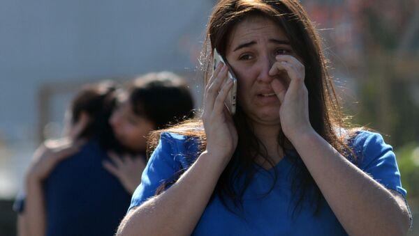 Explosión en un hospital privado de la ciudad de Concepción (Chile), el 21 de abril de 2018 - Sputnik Mundo