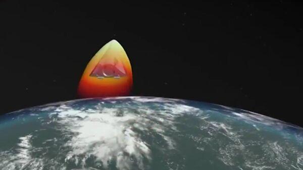 El misil hipersónico ruso Avangard - Sputnik Mundo