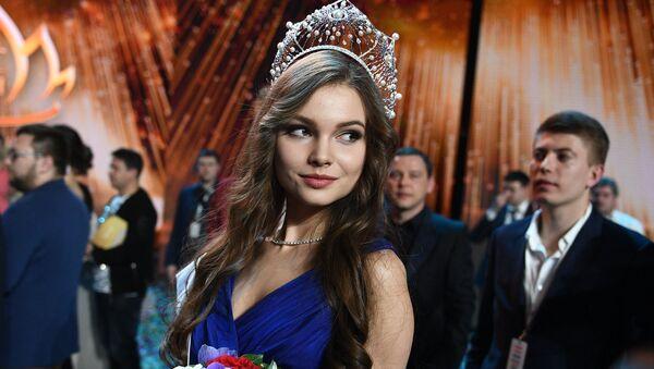 Esta joven estudiante representará a Rusia en Miss Mundo y Miss Universo - Sputnik Mundo
