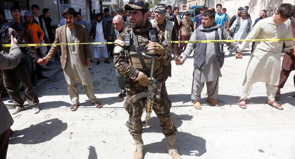 Un militar de Afganistán