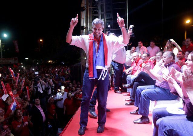 Mario Abdo Benitez, candidato a la presidencia de Paraguay