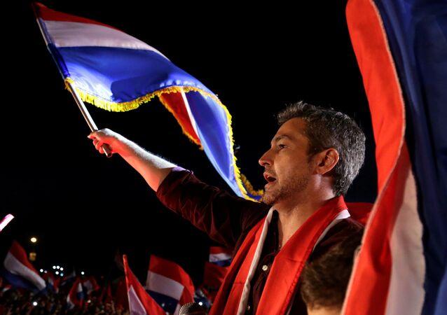 Mario Abdo Benítez, presidente electo de Paraguay