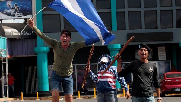 Protestas en Managua, Nicaragua (archivo) - Sputnik Mundo