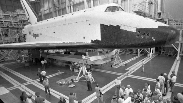 El transbordador espacial Buran - Sputnik Mundo