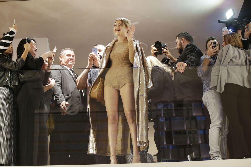 La bella modelo Gigi Hadid cumple años