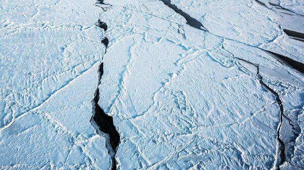 El hielo del Ártico (imagen referencial) - Sputnik Mundo