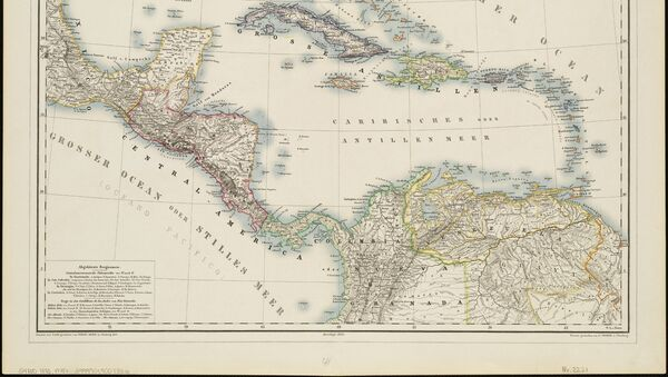 Un mapa antigua de América Latina (imagen referencial) - Sputnik Mundo