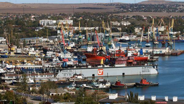Un puerto en Crimea - Sputnik Mundo