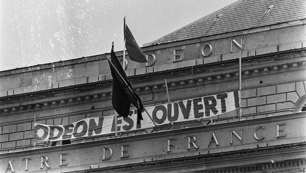 El teatro Odéon, ocupado por estudiantes y artistas en mayo de 1968 - Sputnik Mundo