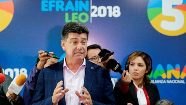 Efraín Alegre, el excandidato presidencial paraguayo - Sputnik Mundo