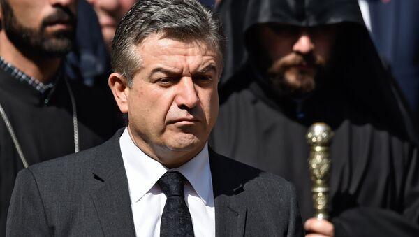 Karén Karapetián, primer ministro adjunto de Armenia - Sputnik Mundo