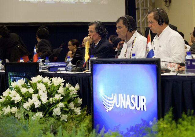 Logo de Unasur