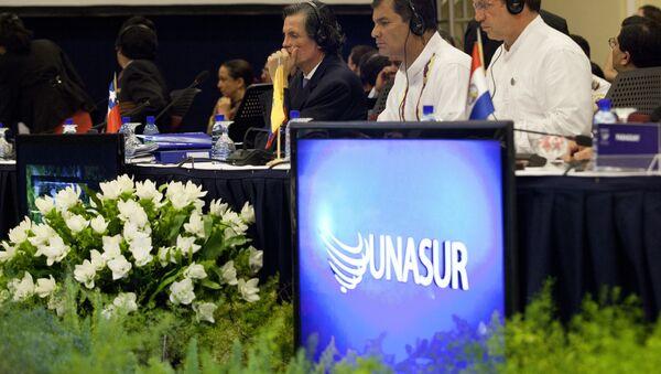 Logo de Unasur - Sputnik Mundo