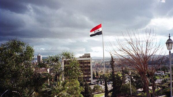 La bandera de Siria - Sputnik Mundo