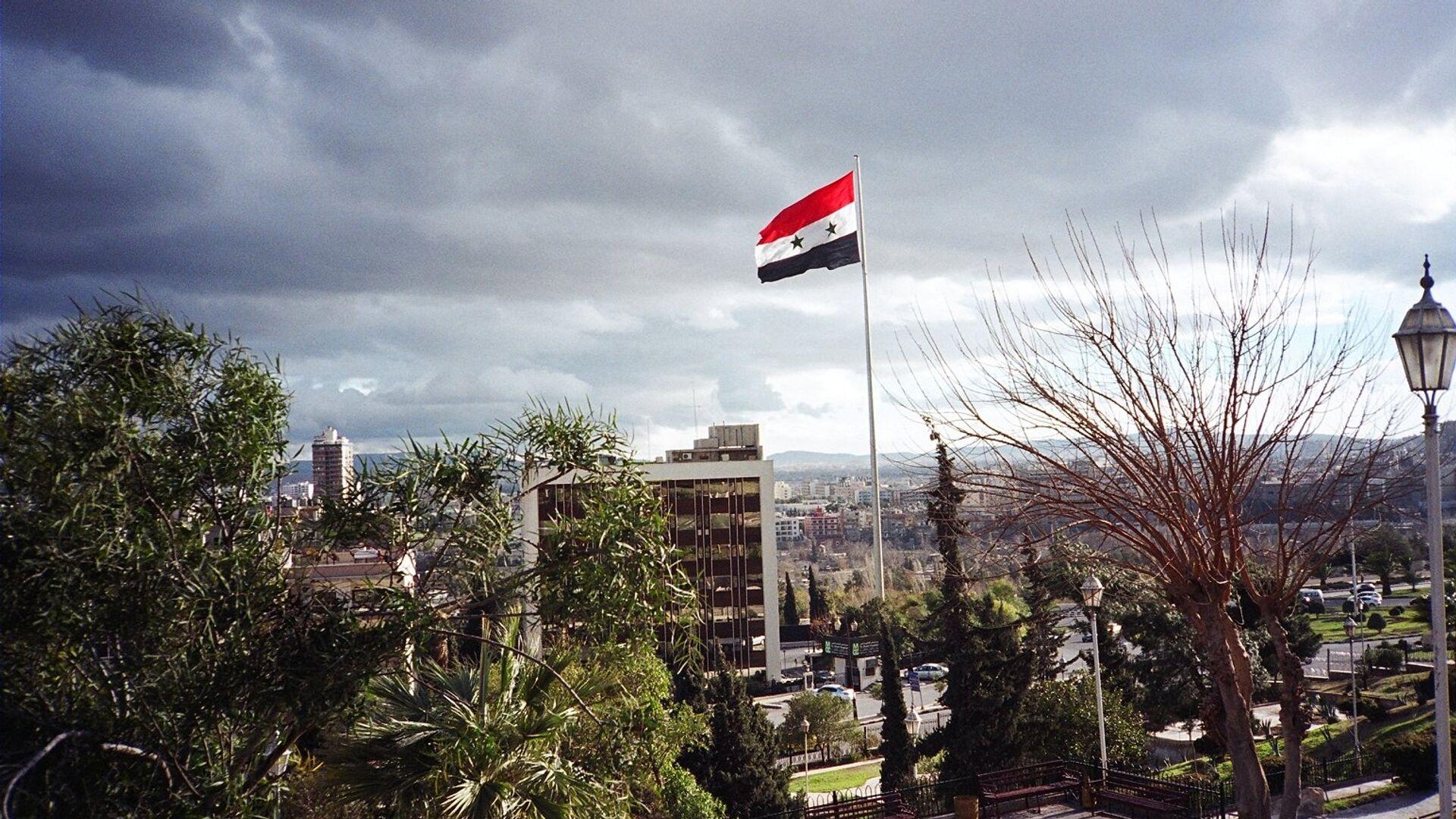 La bandera de Siria - Sputnik Mundo, 1920, 28.04.2021