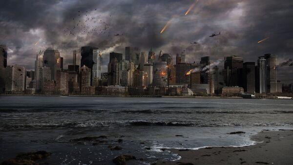 Una ciudad en guerra (imagen referencial) - Sputnik Mundo