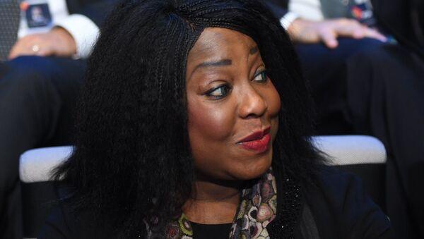 Fatma Samoura, la secretaria general de la FIFA - Sputnik Mundo