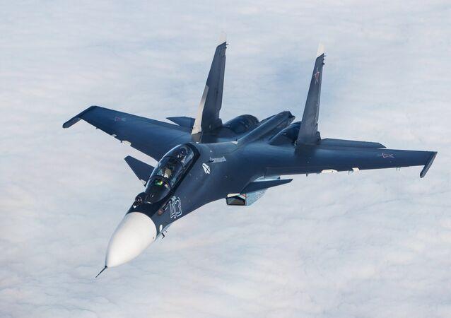 Caza polivalente Su-30SM