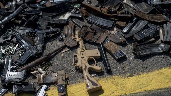 Armas en Brasil (archivo) - Sputnik Mundo