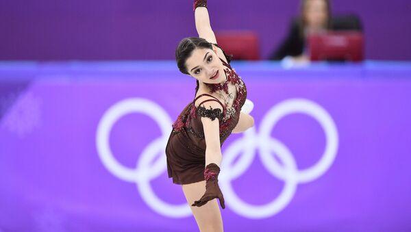 Evgenia Medvédeva, patinadora rusa - Sputnik Mundo