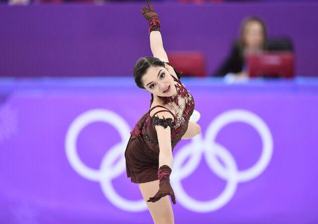 Evgenia Medvédeva, patinadora rusa