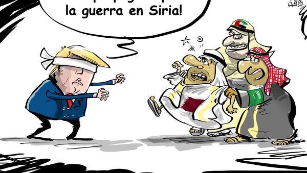 ¡Listos o no, allá voy! ¿Quién pagará por la guerra siria? - Sputnik Mundo