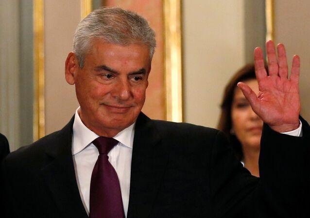 César Villanueva, el primer ministro de Perú (archivo)