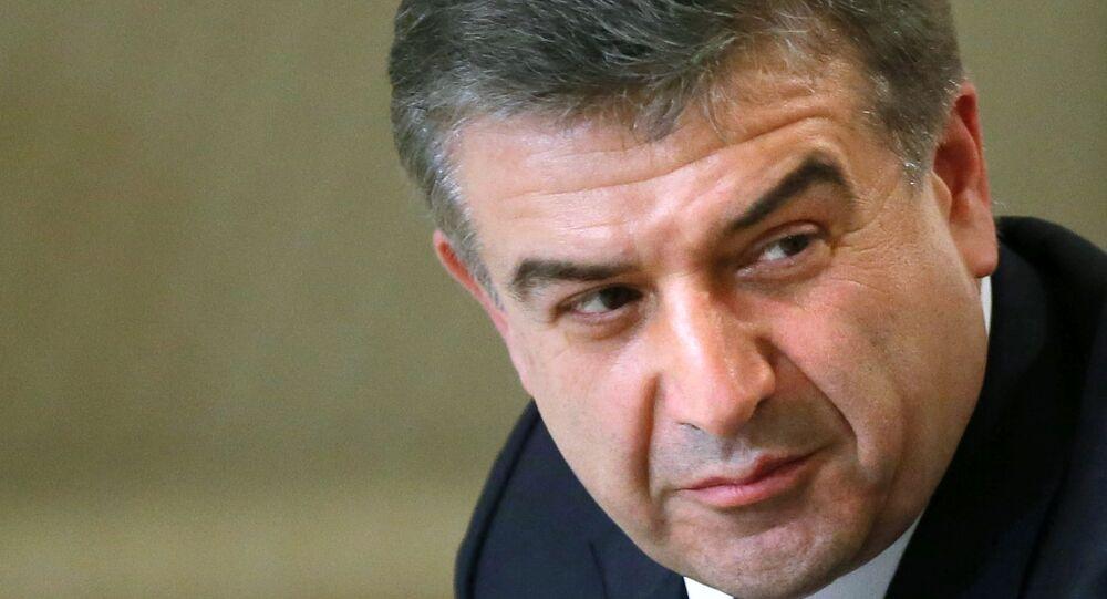 Karén Karapetián, primer ministro adjunto de Armenia
