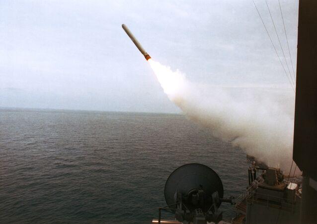 Misil estadounidense Tomahawk (archivo)