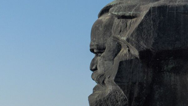 Monumento a Karl Marx en Alemania - Sputnik Mundo