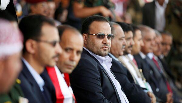 Saleh Samad, encabezando el Consejo Político Supremo de Yemen, archivo - Sputnik Mundo