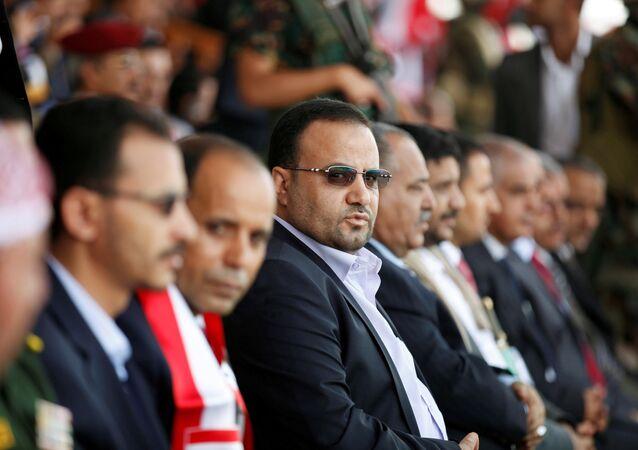 Saleh Samad, encabezando el Consejo Político Supremo de Yemen, archivo