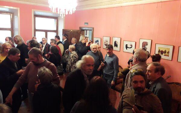 Exposicion de caricaturas de Ares en Moscú - Sputnik Mundo