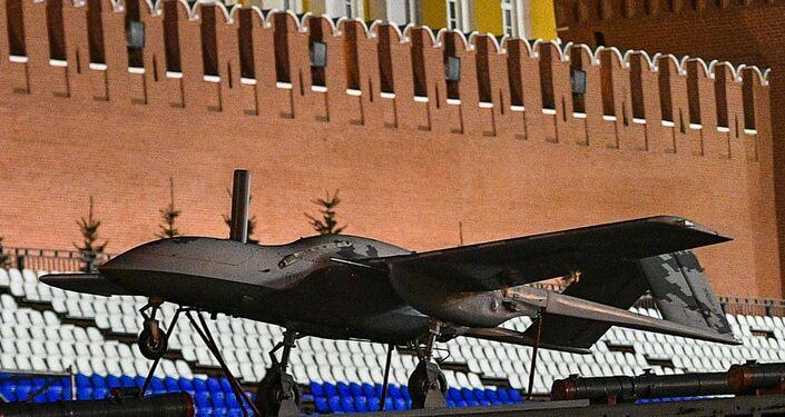 Dron de combate avionico Korsar