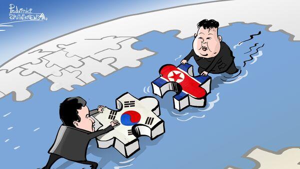 Exitoso avance en el diálogo intercoreano - Sputnik Mundo