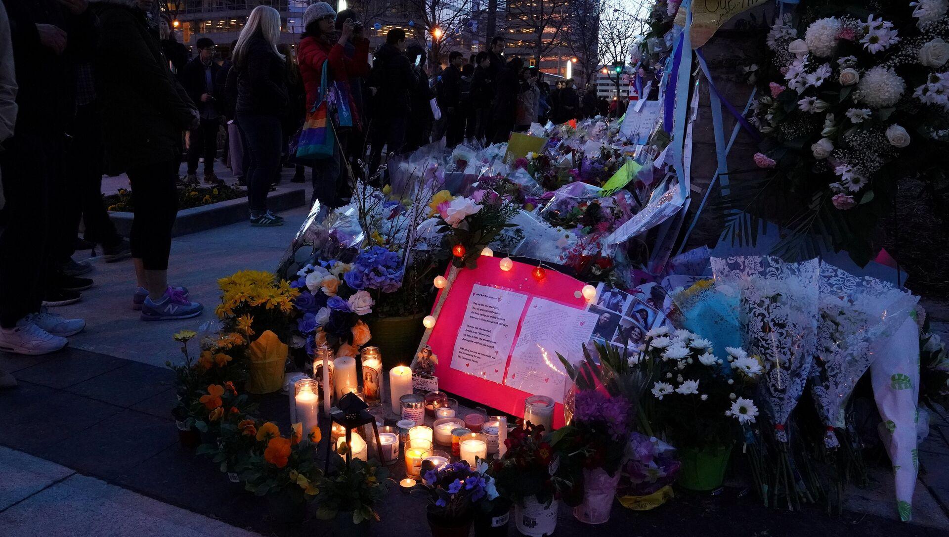 Memorial en Toronto por las víctimas del atropello - Sputnik Mundo, 1920, 28.04.2018