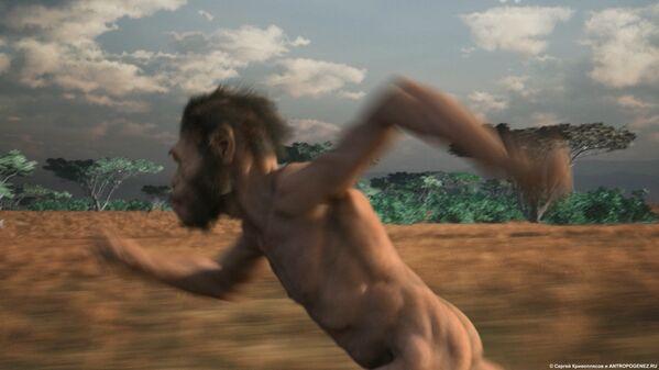 Кадр из мультфильма Homo naledi: Встреча двух миров - Sputnik Mundo
