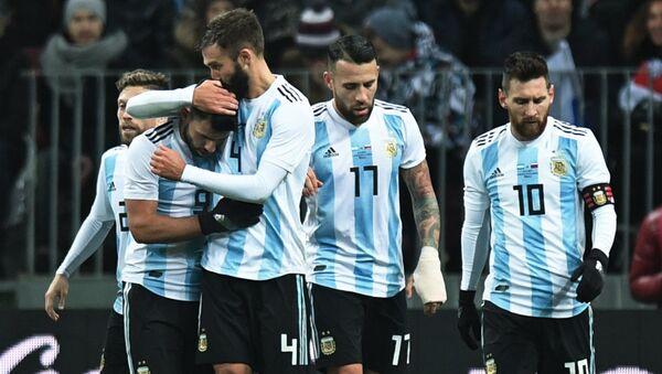 La selección de fútbol de Argentina - Sputnik Mundo