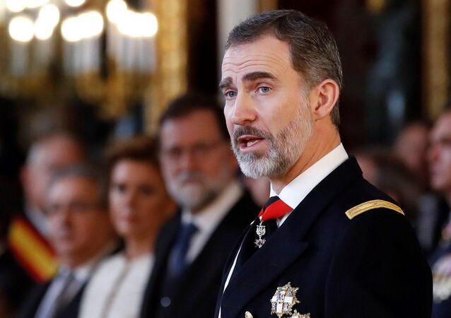 El rey Felipe VI de España