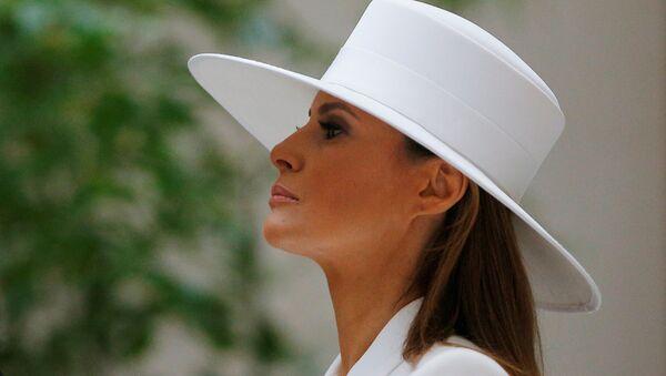 Melania Trump, primera dama de EEUU - Sputnik Mundo