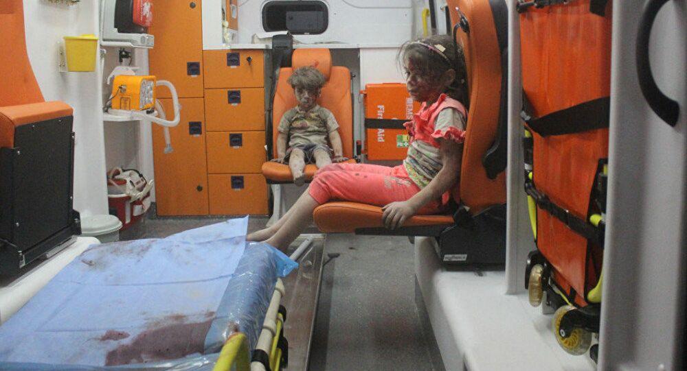 Omran Daqneesh, que se convirtió en símbolo del sufrimiento de los civiles sirios en Alepo