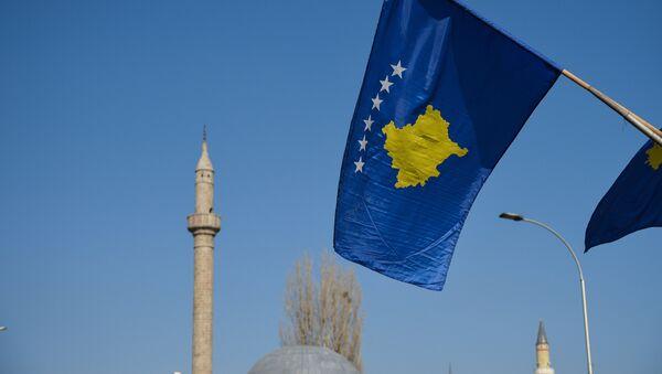 Bandera de Kosovo en Pristina - Sputnik Mundo