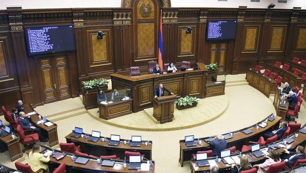 El Parlamento de Armenia - Sputnik Mundo