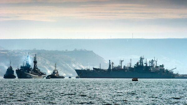 Los buques de la flota del mar Negro de Rusia (archivo) - Sputnik Mundo
