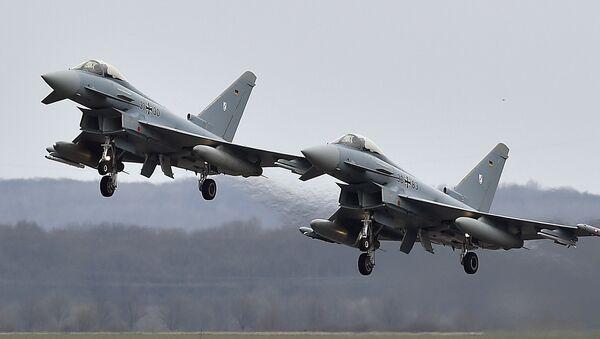 Cazas alemanes Eurofighter - Sputnik Mundo