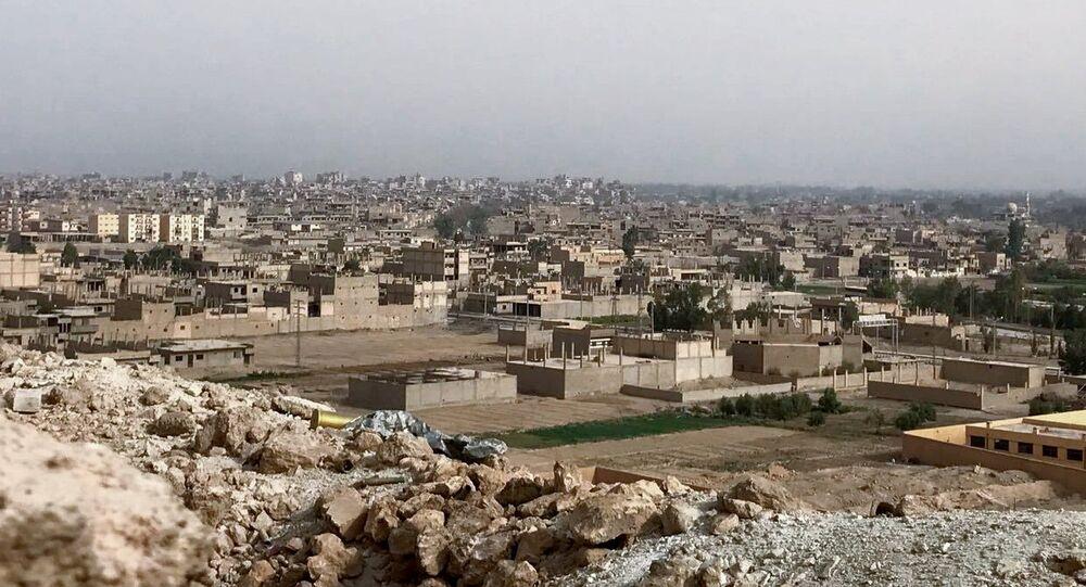 Situación en Al Jafra, Siria (archivo)