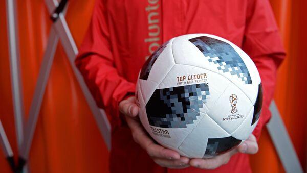 La pelota de la Copa Mundial de Fútbol FIFA 2018 - Sputnik Mundo