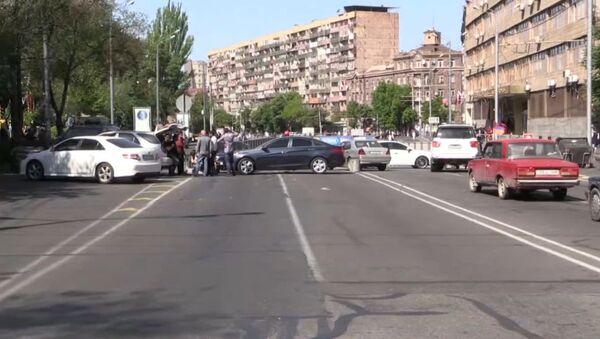 Protestas en Armenia: bloqueo de calles, ministerios y transporte - Sputnik Mundo