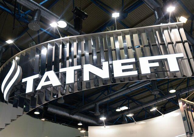 Logo de la compañía petrolera rusa Tatneft