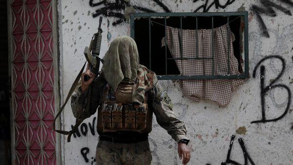 Operación policial en la favela de Ciuadd de Dios en Río de Janeiro, Brasil - Sputnik Mundo